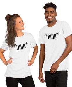 Jeep Soccer Grill Short-Sleeve Unisex T-Shirt T-Shirts Soccer
