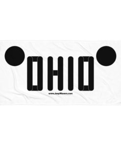 Ohio Jeep Grill Towel Towels Ohio