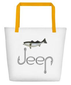 Jeep Hooks Logo Beach Bag Beach Bags Fishing