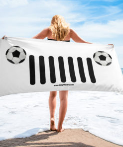 Jeep Soccer Grill Towel Towels Soccer