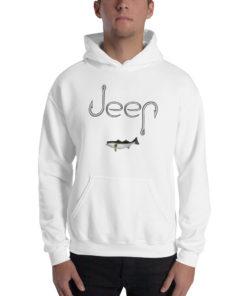 Jeep Hooks Logo Unisex Hoodie Hoodies Fishing