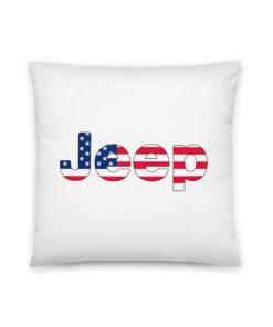 Jeep USA Flag Basic Pillow Pillows USA