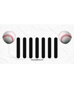 Jeep Baseball Grill Towel Towels Baseball