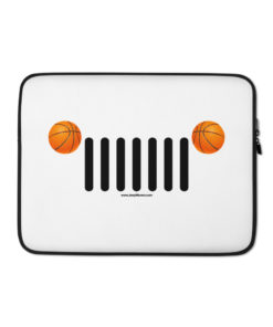 Jeep Basket Ball Grill Laptop Sleeve Laptop Cases Basket Ball