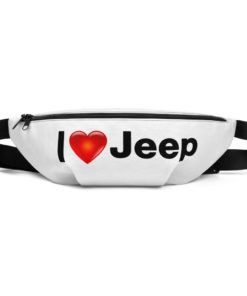 I Love Jeep Fanny Pack Fanny Pack I Love Jeep