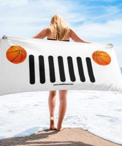 Jeep Basket Ball Grill Towel Towels Basket Ball