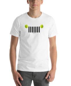 Jeep Tennis Grill Short-Sleeve Unisex T-Shirt T-Shirts Tennis