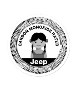 Carbon Monoxide Rated Bubble-free stickers Stickers Other