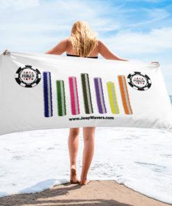 Poker Chips Jeep Grille Towel Towels Poker