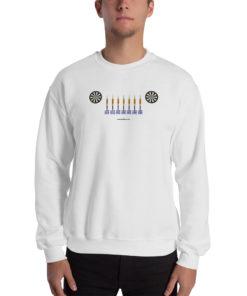 Jeep Darts Grill 2 Unisex Sweatshirt Sweatshirts Darts