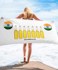India Beer Bottles Jeep Grill Towel Towels Beer