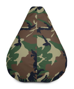 Jeep Camouflage Bean Bag Chair w/ filling Bean Bag Chair Camouflage