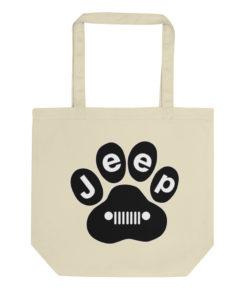 Jeep Paw Eco Tote Bag Tote Paw