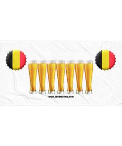 Belgium Beer Glasses Jeep Grill Towel Towels Beer