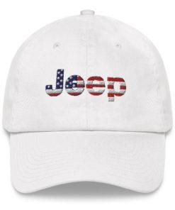 Jeep USA Flag Dad hat Caps USA