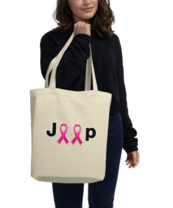 Jeep Breast Cancer Logo Ribbons Eco Tote Bag Tote Breast Cancer