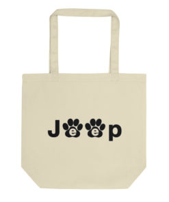 Jeep Black Paw Logo Eco Tote Bag Tote Paw