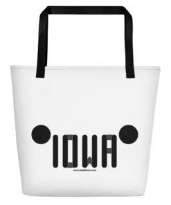 Iowa Jeep Grill Beach Bag Beach Bags Iowa