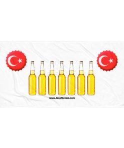 Turkey Beer Bottles Jeep Grill Towel Towels Beer
