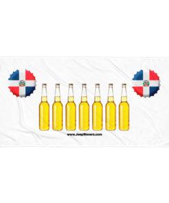 Dominican Republic Beer Bottles Jeep Grill Towel Towels Beer