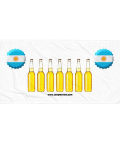 Argentina Beer Bottles Jeep Grill Towel Towels Argentina