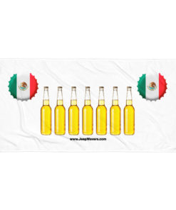 Mexico Beer Bottles Jeep Grill Towel Towels Beer