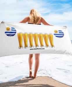 Uruguay Beer Glasses Jeep Grill Towel Towels Beer