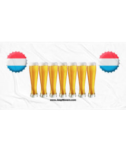 Luxembourg Beer Glasses Jeep Grill Towel Towels Beer