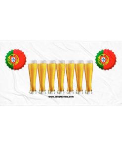 Portugal Beer Glasses Jeep Grill Towel Towels Beer