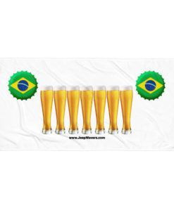 Brazil Beer Glasses Jeep Grill Towel Towels Beer