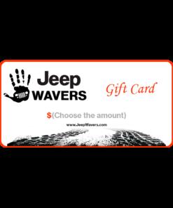 JeepWavers gift Card