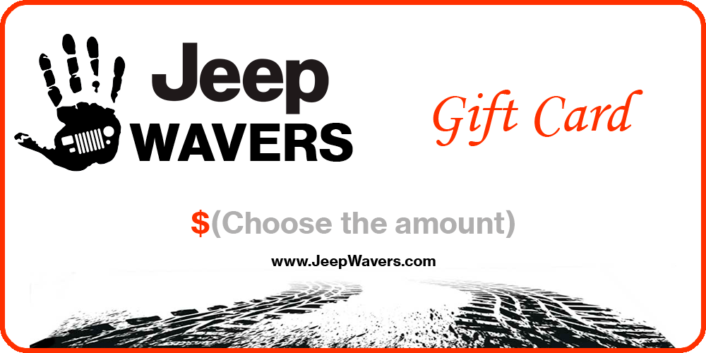 Jeep Gift Card