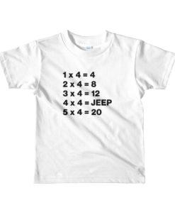 Jeep Math Short sleeve kids T-shirt T-Shirts Math