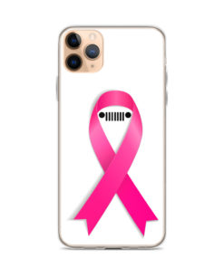 Jeep Breast Cancer Ribbon iPhone Case iPhone Cases Breast Cancer