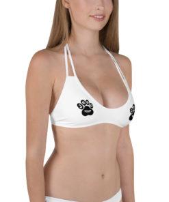 Jeep Black Paw Bikini Top Bikini Top Paw