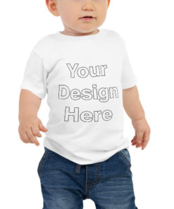 YOUR Design on this Baby Premium Tee | Bella + Canvas 3001B For Kids & Youth