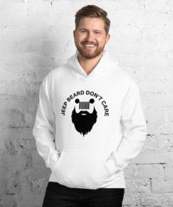 Jeep Beard Don't Care Hoodie