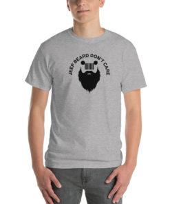 Jeep Beard Don't Care Short Sleeve T-Shirt T-Shirts Beard