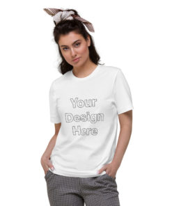 YOUR Design on this Unisex Organic Cotton T-Shirt Unisex