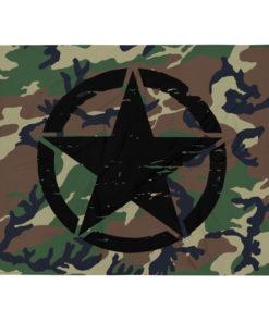Military Star Camo Throw Blanket Blankets Army Star