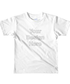 YOUR Design on this Kids Jersey T-Shirt | American Apparel 2105W For Kids & Youth