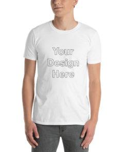 YOUR Design on this Basic Short-Sleeve Unisex T-Shirt Unisex