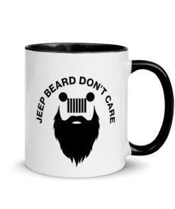 Jeep Beard Don't Care Mug
