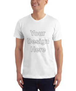 YOUR Design on this Unisex Jersey T-Shirt   American Apparel 2001 Unisex