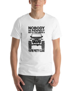 Nobody is Perfect… Short-Sleeve Unisex T-Shirt T-Shirts Other