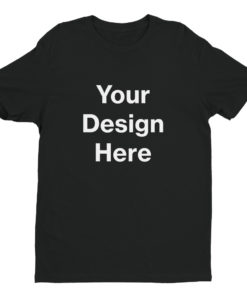 YOUR Design on this Men's Fitted T-Shirt | Next Level 3600 For Mens