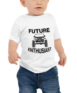 Future Jeep Enthusiast Baby Jersey Short Sleeve Tee T-Shirts Future Jeep Enthusiast
