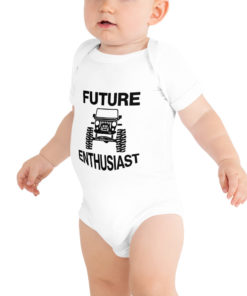 Future Jeep Enthusiast BodySuit Bodysuits Future Jeep Enthusiast