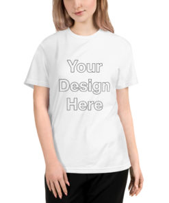 YOUR Design on this Unisex Eco Tee   Next Level 4600 Unisex
