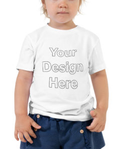 YOUR Design on this Toddler Premium Tee | Bella + Canvas 3001T For Kids & Youth